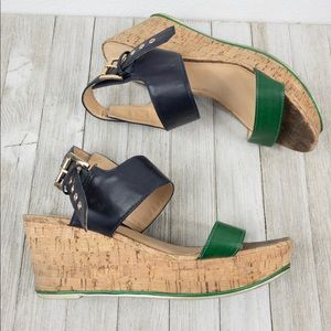 Tommy Hilfiger wedge, Size 9M